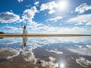 日本のウユニ塩湖と話題の「父母ヶ浜」で絶景フォトを撮ろう!!
