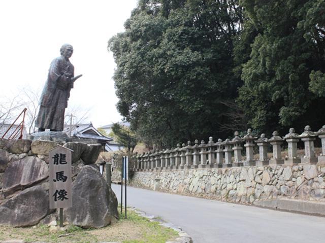 ◎明治維新150周年~香川の史跡探訪 ①坂本龍馬の銅像
